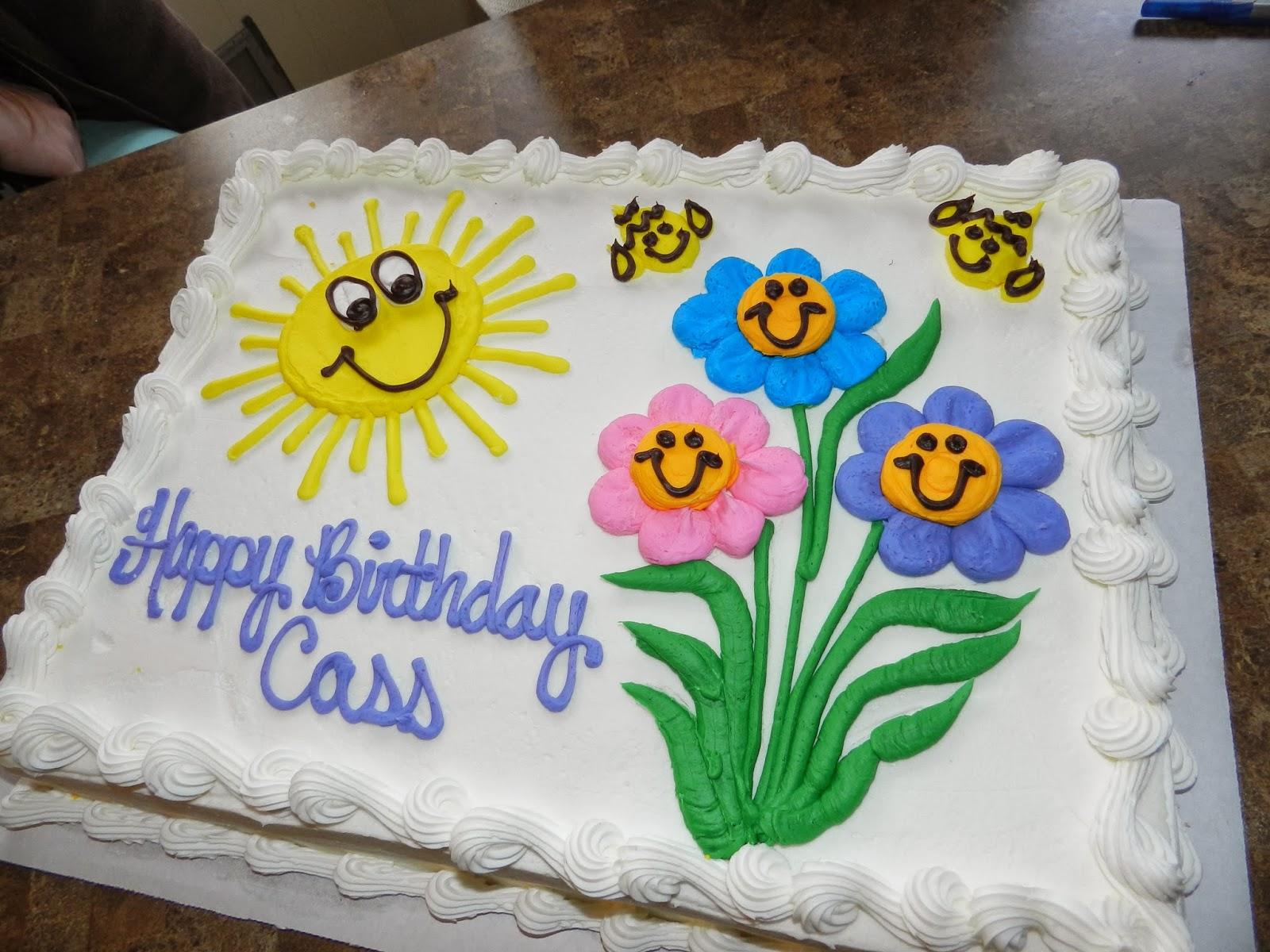 Happy Birthday Cass Cake