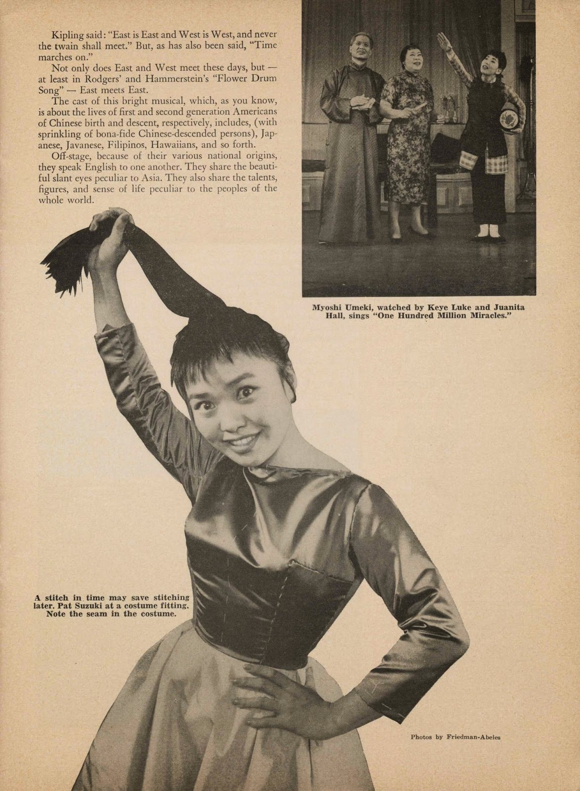 Chinese American Eyes: Flower Drum Song, 1959
