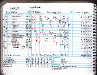 Marlins vs. Metropolitans, 04-08-17. Marlins win, 8-1.