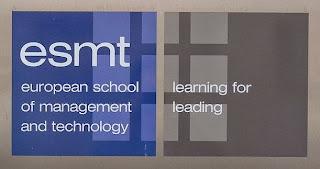 European School of Management and Technology, ESMT