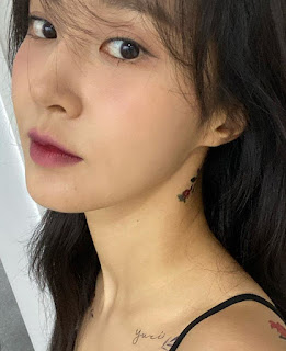 SNSD Yuri Tattoo