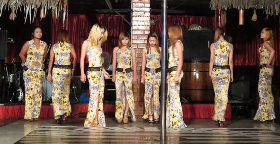 Sexy Burmese show girls are oriental glamorous highlights