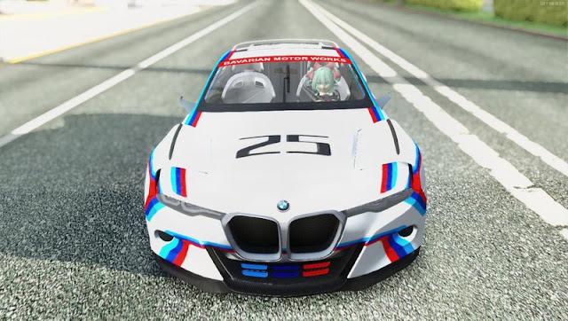2015 BMW CSL 3.0 Hommage R GTA SA Mobile GTAAm
