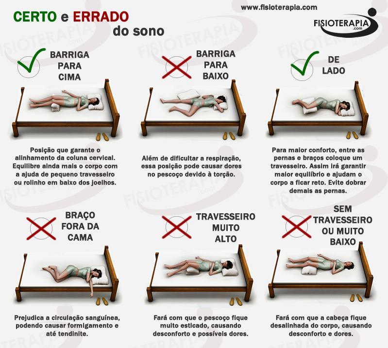 ce923644d Posições do sono - Clínica Médica e Odontológica - Villa Vita