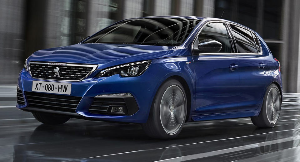 2018 peugeot 308 is the mildest of facelifts. Black Bedroom Furniture Sets. Home Design Ideas