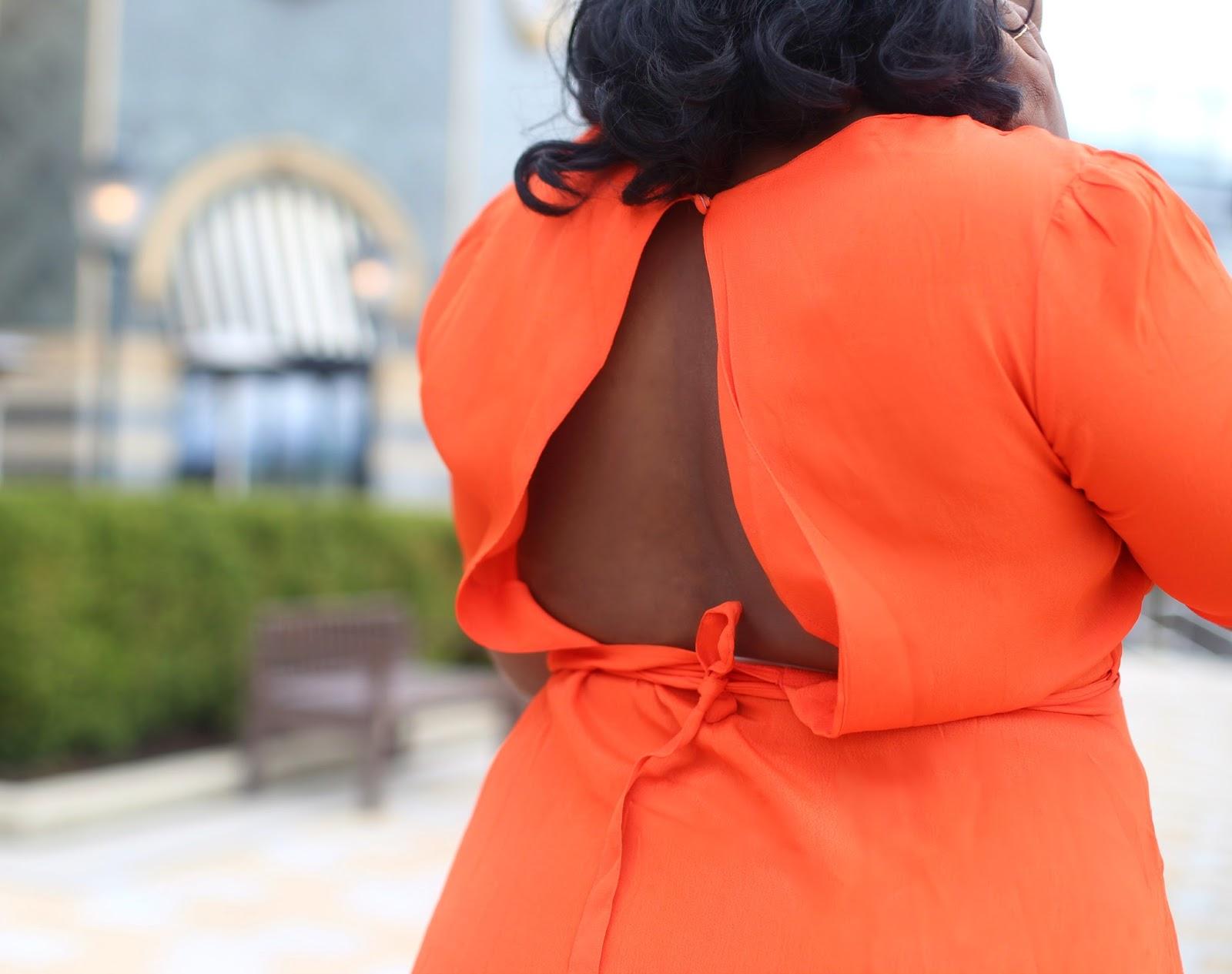 Asos Tall orange Maxi