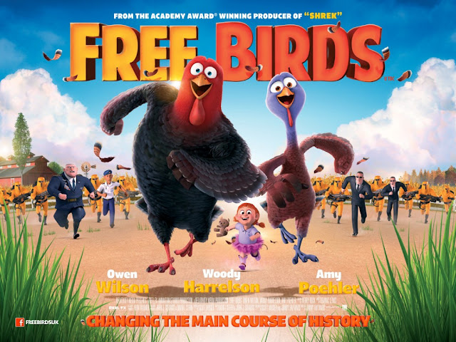 Free Birds (2013) 720p BluRay Dual Audio [Hindi-English] ESub 1