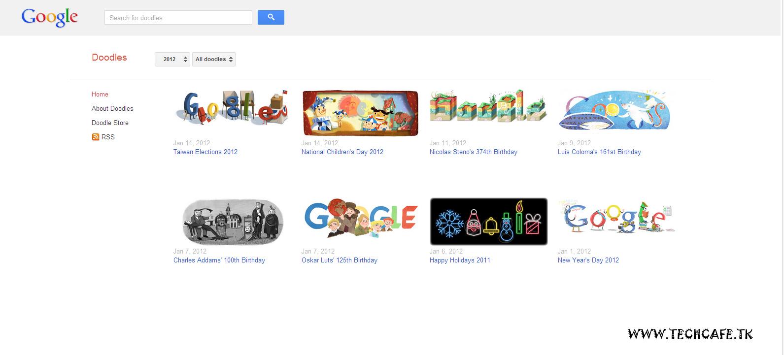 Fbart Google Logo Collection