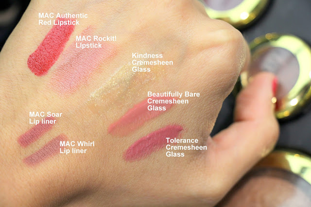 MAC Caitlyn Jenner Collection swatches