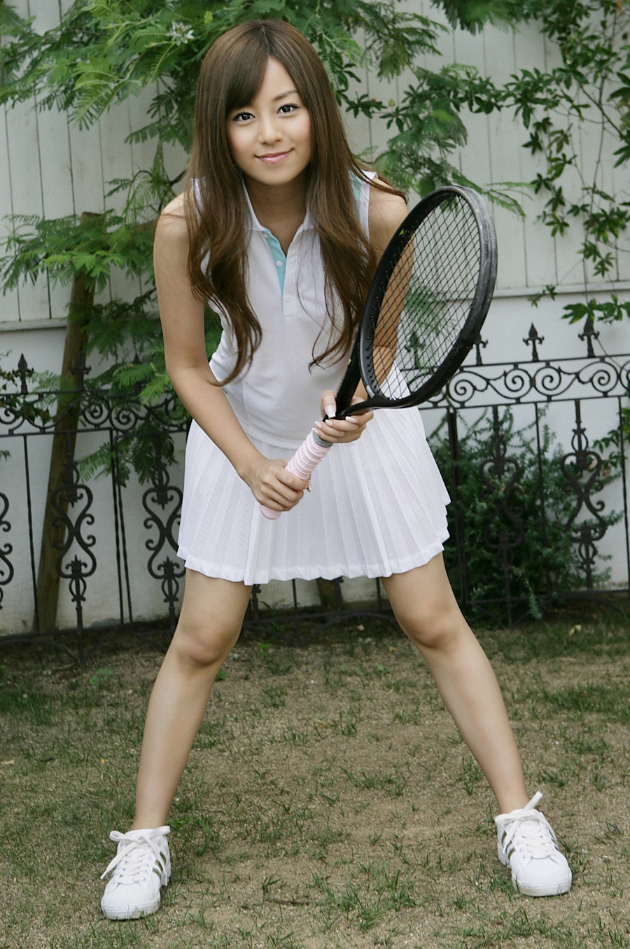 Japanese Girl Pictures (cute pic): Play tennis wiht Jun ...