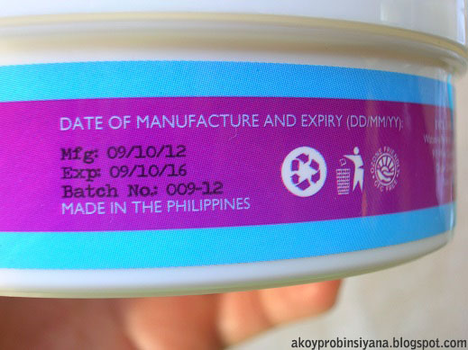 Manufacturing and Expiration Date