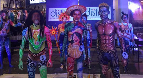 body painting at TDNP