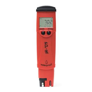 Jual pH + Temperature Meter HANNA HI98128