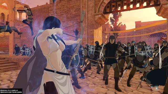 Review Arslan The Warriors of Legend farangis ps4