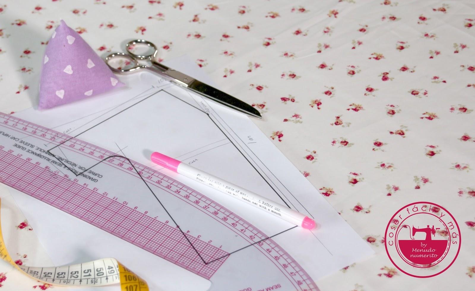 Trazar un patrón de vestido de verano - El blog de Coser fácil y más ...