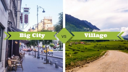 city life and village life written in hindi I'm going to write about there are so many advantages and disadvantages in city life and village reasons why country life is better than city life.