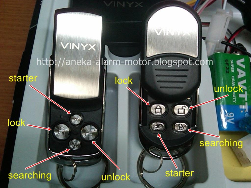 Jual Dan Pasang Aneka Alarm Motor Remote Bekasi Cibitung
