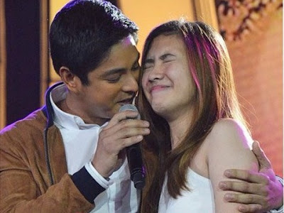 Pastillas girl feels 'kilig' as Coco Martin serenades her