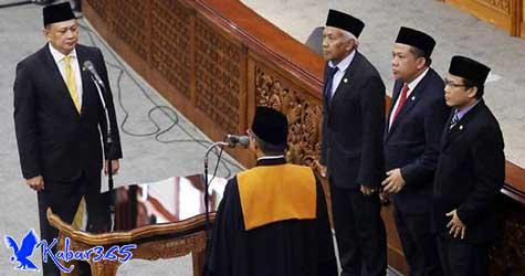 Harapan Ketua MPR Kepada Bamsoet Untuk Benahi DPR Usai Resmi Dilantik