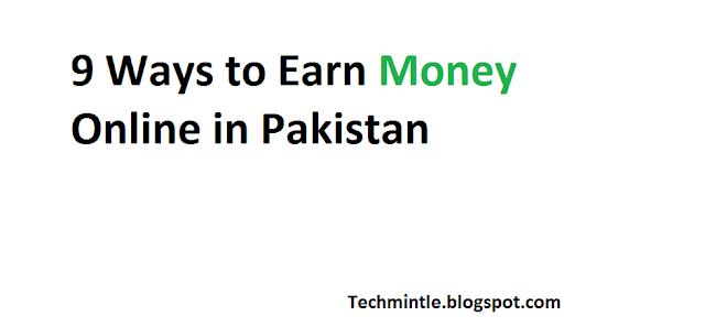 earn money online through internet in pakistan