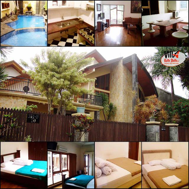 Villa Fasilitas Kolam Renang Dekat Jatimpark 2