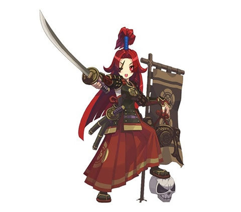 Female Samurai Hero Afaea
