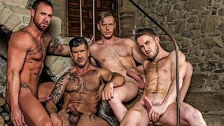 Piss Play – Marq Daniels, Michael Roman, Adam Killian & Brian Bonds
