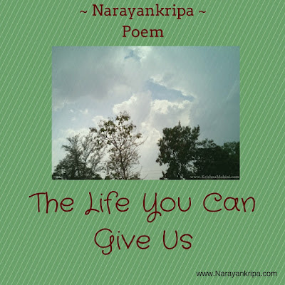 Image for Poem: The Life You Can Give Us