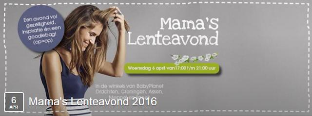 BabyPlanet Mama's Lenteavond