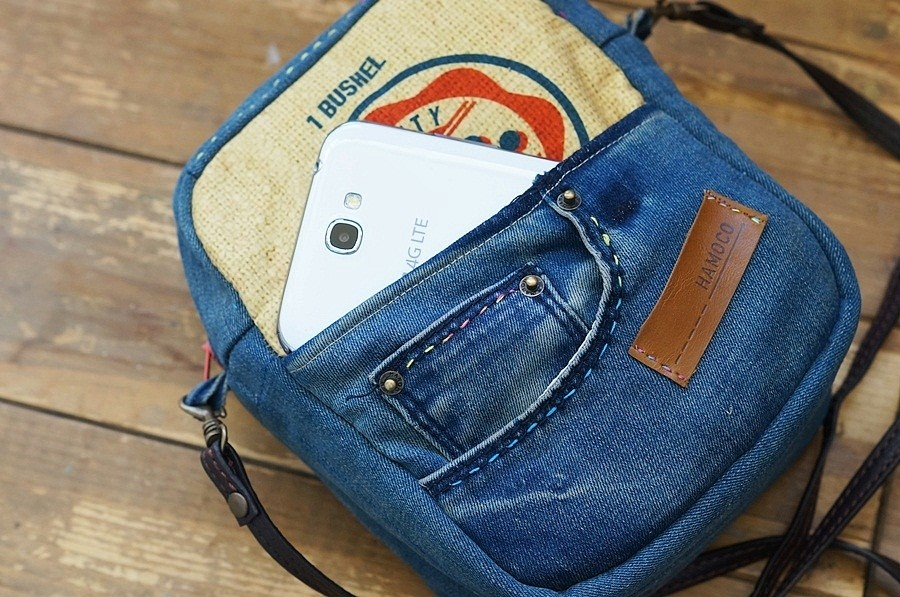Bag from Recycled Old Jeans ~ DIY Tutorial Ideas!