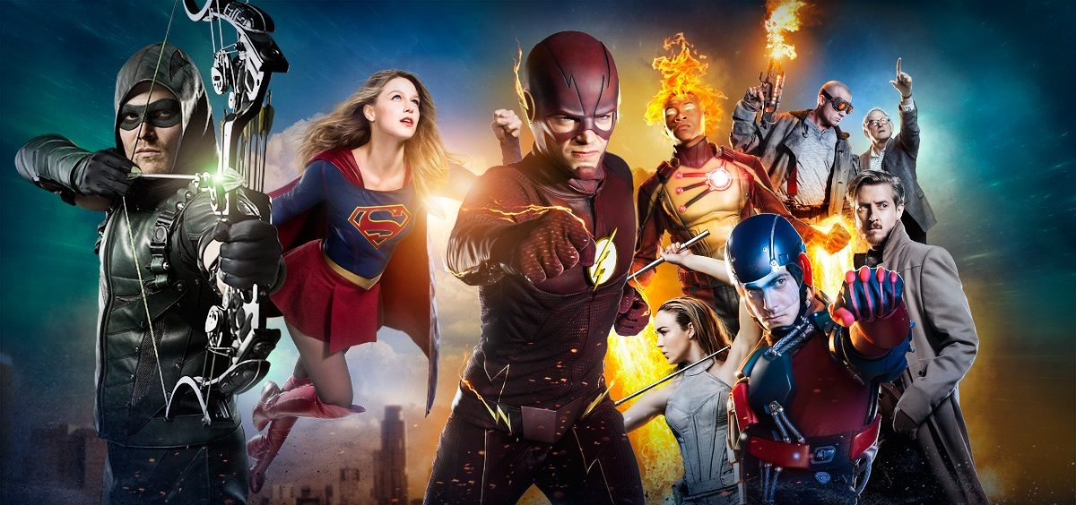 macrocrossover the flash dc cw arrow supergirl legends