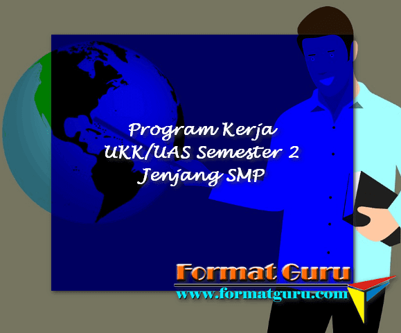 Program Kerja UKK/UAS Semester 2 Jenjang SMP