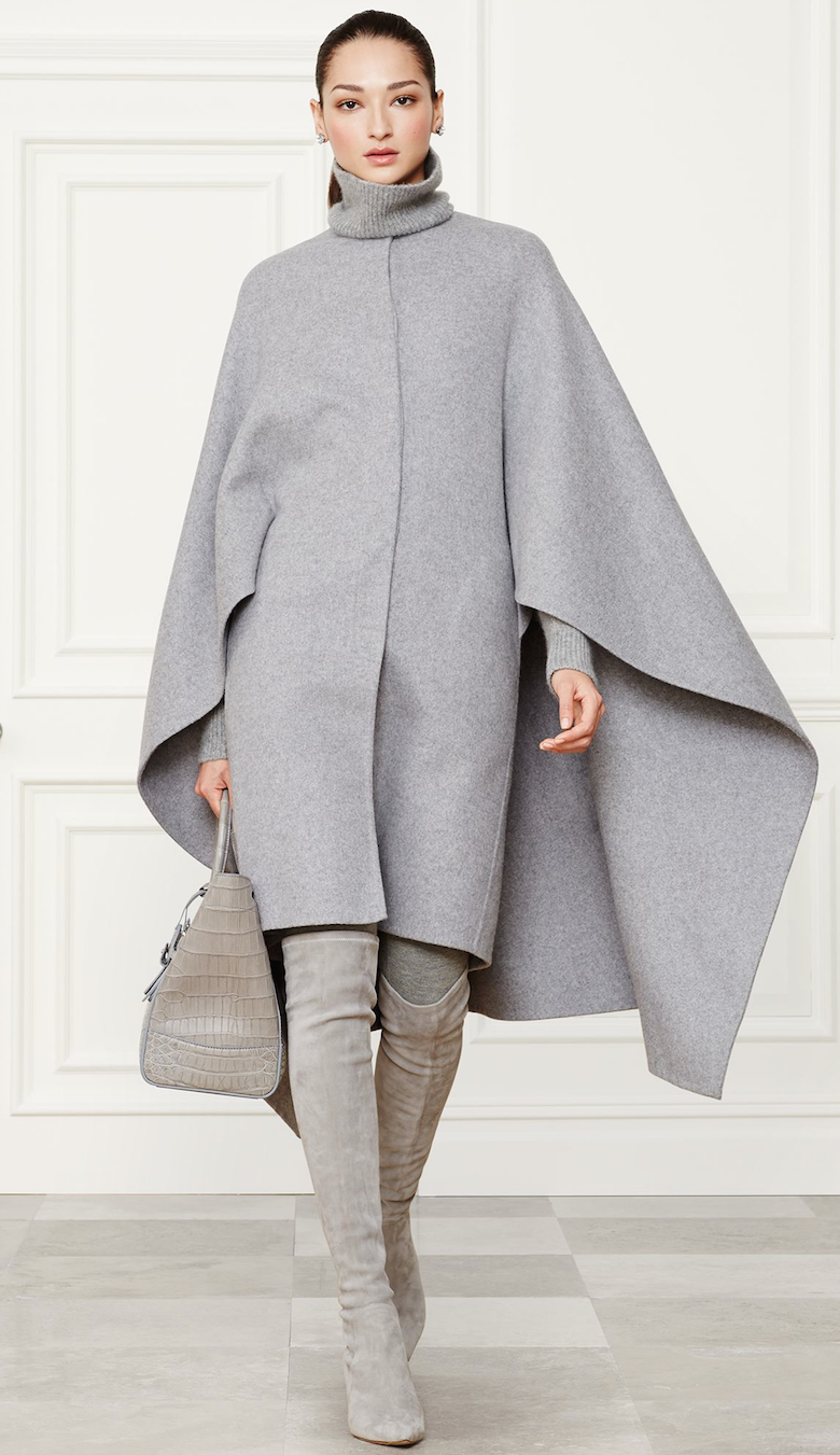 Ralph Lauren Cashmere Blend Ellison Coat  Fall 2014 Collection
