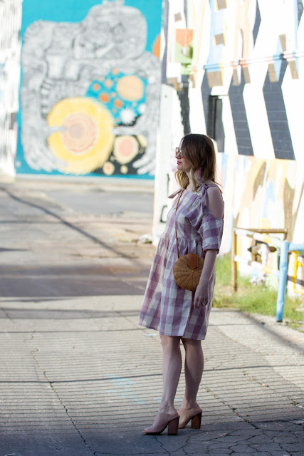glamorous-pink-gingham-dress-lisi-lerch