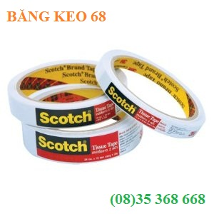 bang keo 2 mat 3m scotch 6mm