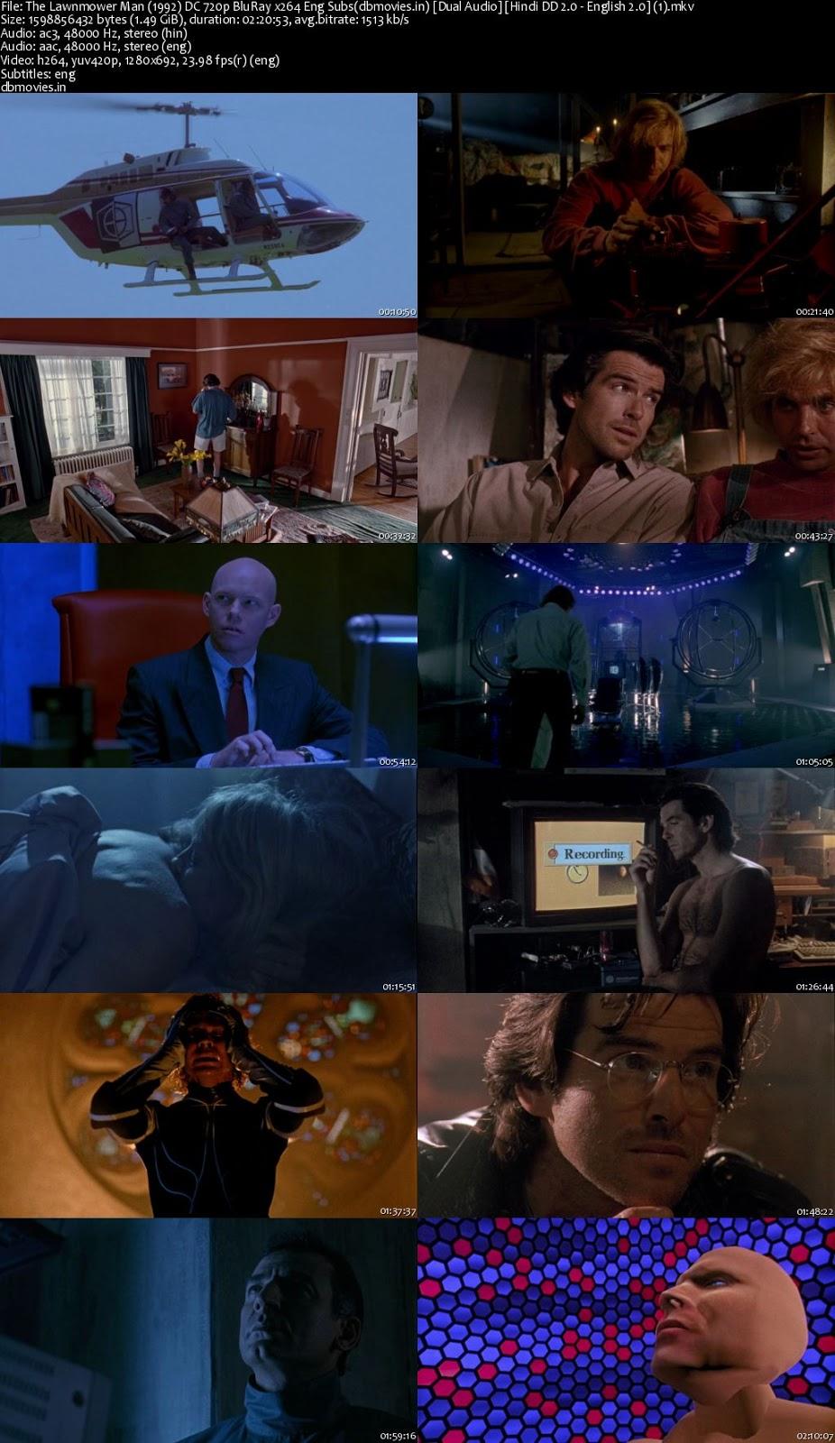screen shot The Lawnmower Man 1992 Full Movie Download Dual Audio 720p