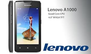 Cara Instal Ulang Lenovo A1000 Via PC - Mengatasi Bootloop