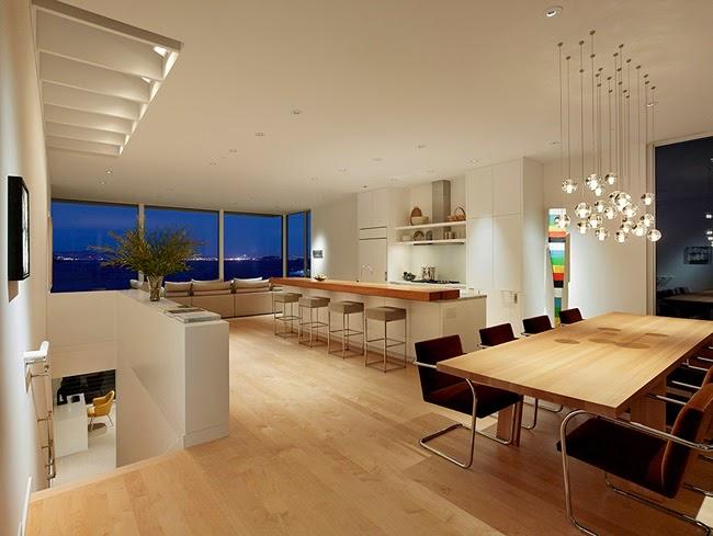Casas minimalistas y modernas casa frente al mar en for Luci a led per casa