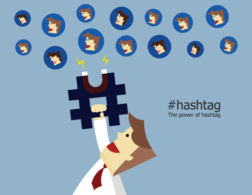 Use appropriate hashtags