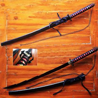Pedang Samurai Ichigo Bankai Kurosaki