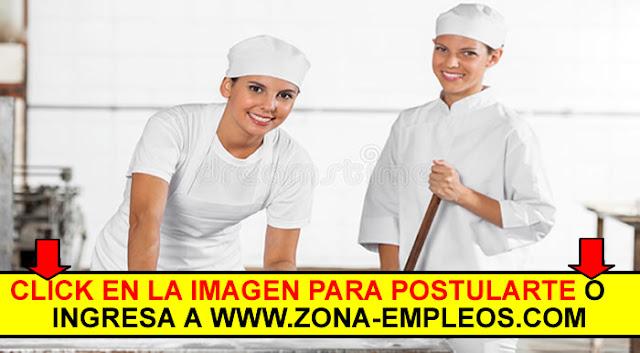 PERSONAL DE COCINA Y LIMPIEZA PARA RESTAURANTE