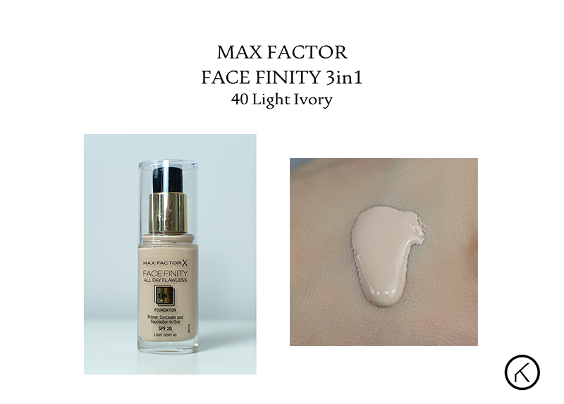 Max Factor Face Finity 3in1 40 light ivory