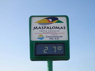 Gran Canaria 2015 termometro