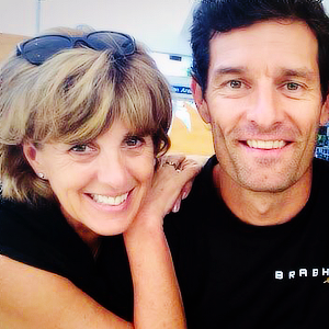 Player Intro Mark Webber C A C C S Wife Ann Neal Png