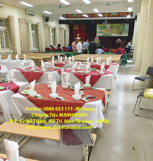 Đặt cỗ tại Chung cư Linh Đàm - Hoàng Mai