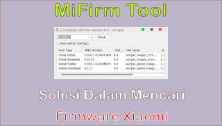 MiFirm Tool
