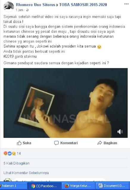 Pria yang menyebut Jokowi Kacung dan akan menembak Jowoki.