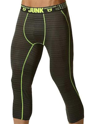 Junk Balance Street Runner Shin Length Underwear Yellow Gayrado Online Shop