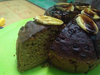 Kek Pisang Exclusive By Papaglamz | Kini dan Dulu