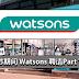 开斋节期间,Watsons 聘请Part Time!一天RM90!
